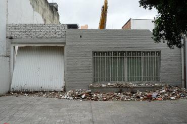 Casa Demolida – Rua Dr. Guilherme Bannitz