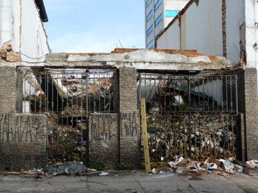 Casa Demolida – Rua Conselheiro Ramalho, 254