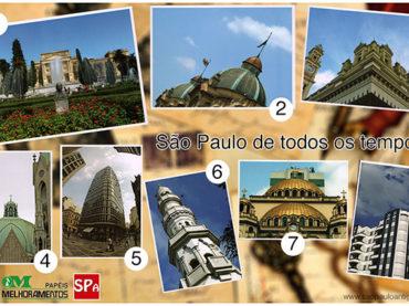 Postais de 8 pontos turísticos de São Paulo em distribuição gratuita!