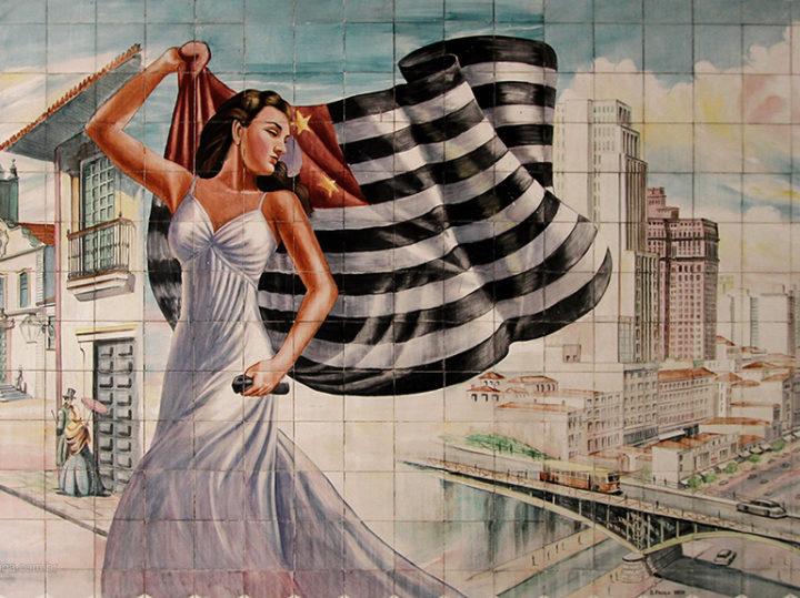 Um mural para São Paulo se orgulhar