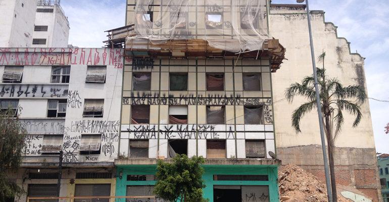 Prédios demolidos – Alameda Cleveland, 173 a 199