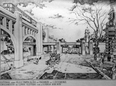 O primeiro projeto de Metrô de São Paulo
