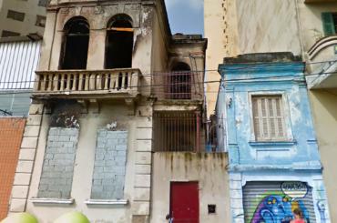 Casas Demolidas – Rua Júlio Marcondes Salgado, 115 e 117