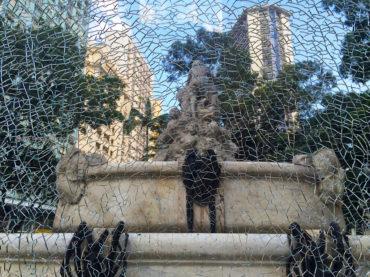 Fonte Monumental está abandonada novamente