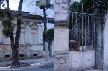 Casa Demolida – Rua Barão de Iguape, 262