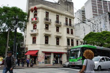 Edifício centenário é renovado no centro de São Paulo