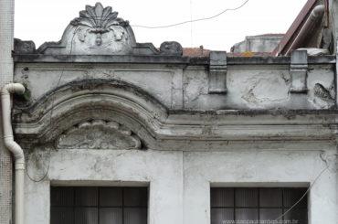 O sobrado ˝engolido˝ da Avenida Rio Branco