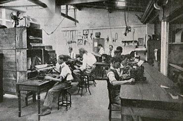 Queremos máquinas de escrever!