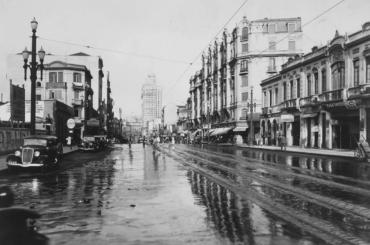 Cruzamento das Avenidas Ipiranga e São João – 1936 e 2020