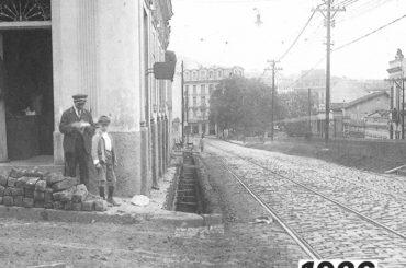 Rua Cel. Xavier de Toledo com Bráulio Gomes – 1926 e 2020